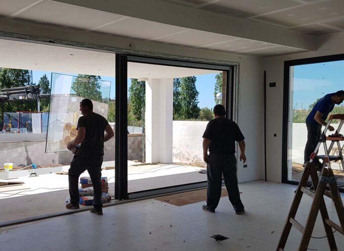 Instalación ventanas y puertas PVC